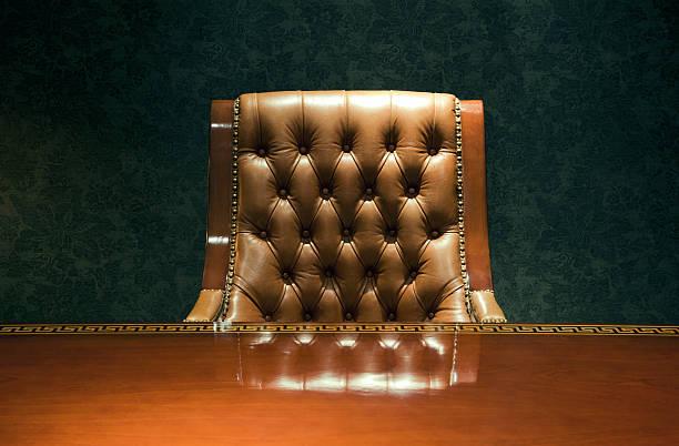 Vintage Sessel und Schreibtisch – Foto