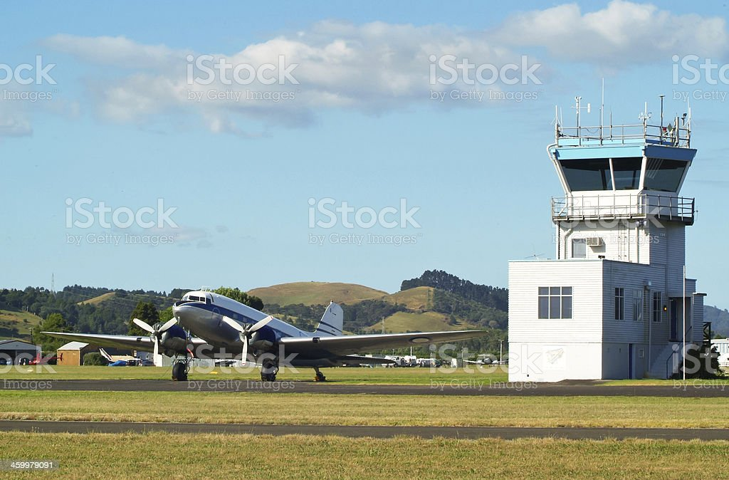Vintage Aviation stock photo
