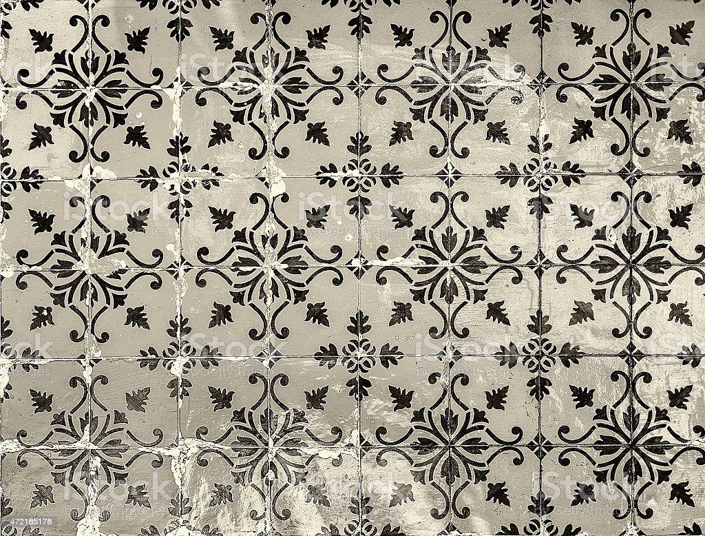 Vintage spanish style ceramic tiles stock image image of