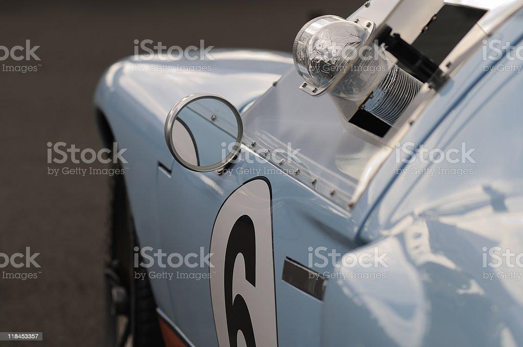 Vintage-racing car – Foto