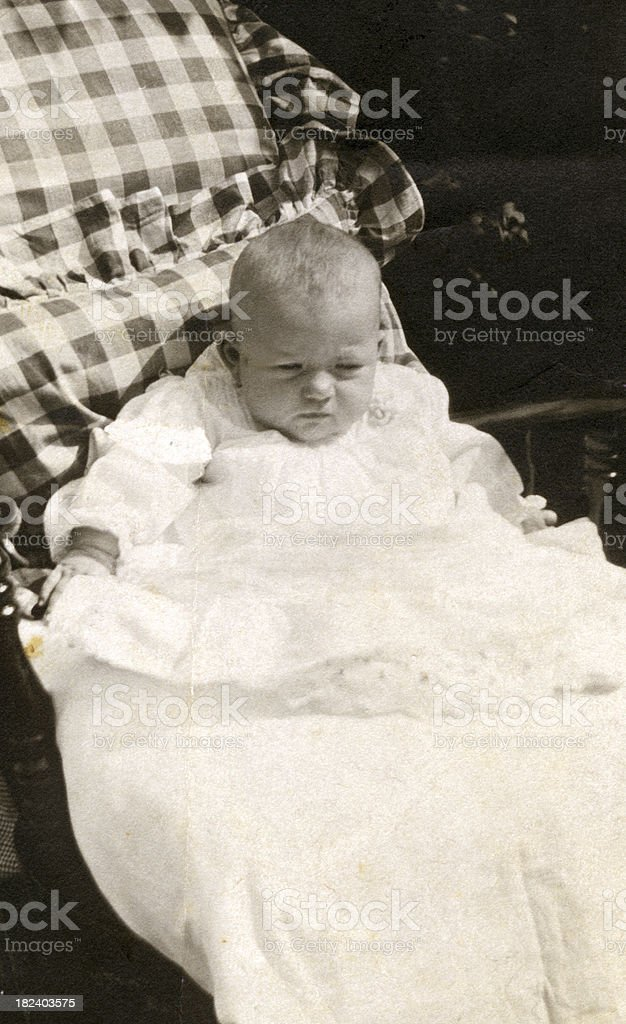 Vintage Baby  ..VIEW SIMILAR IMAGES royalty-free stock photo