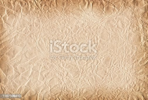 istock Vintage Background. Old dirty and grunge paper texture. 1157106410