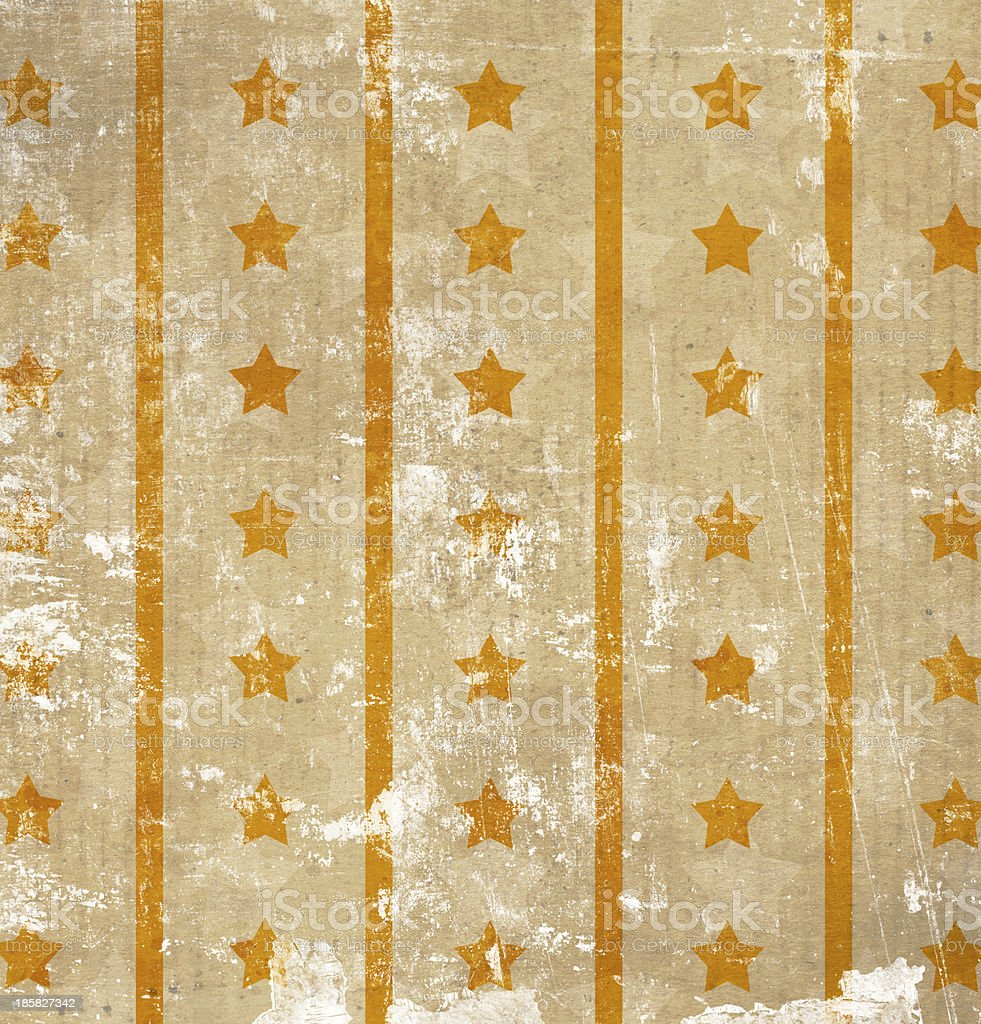 vintage background with stars and stripes royalty-free stock photo