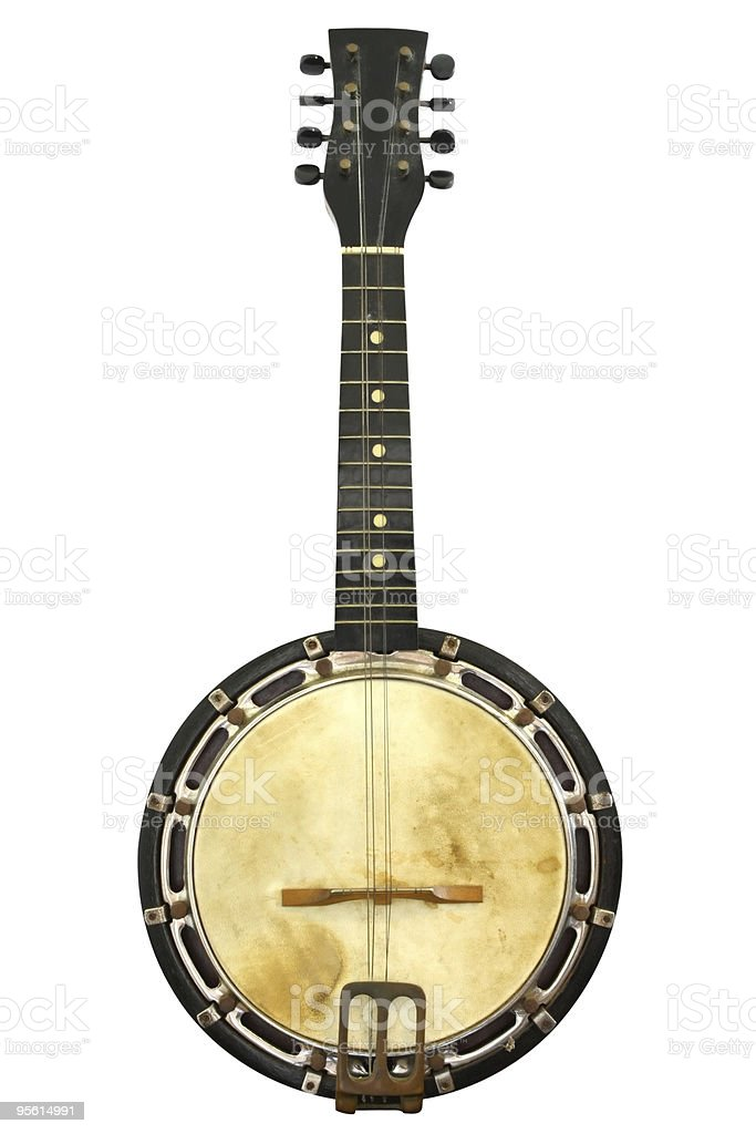 Vintage Banjo stock photo