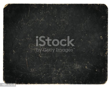 istock Vintage banner or background isolated on white with clipping path 494157016