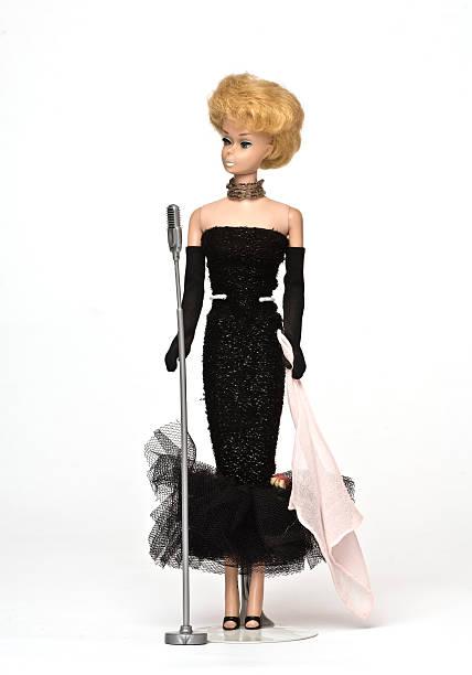 Vintage Barbie stock photo