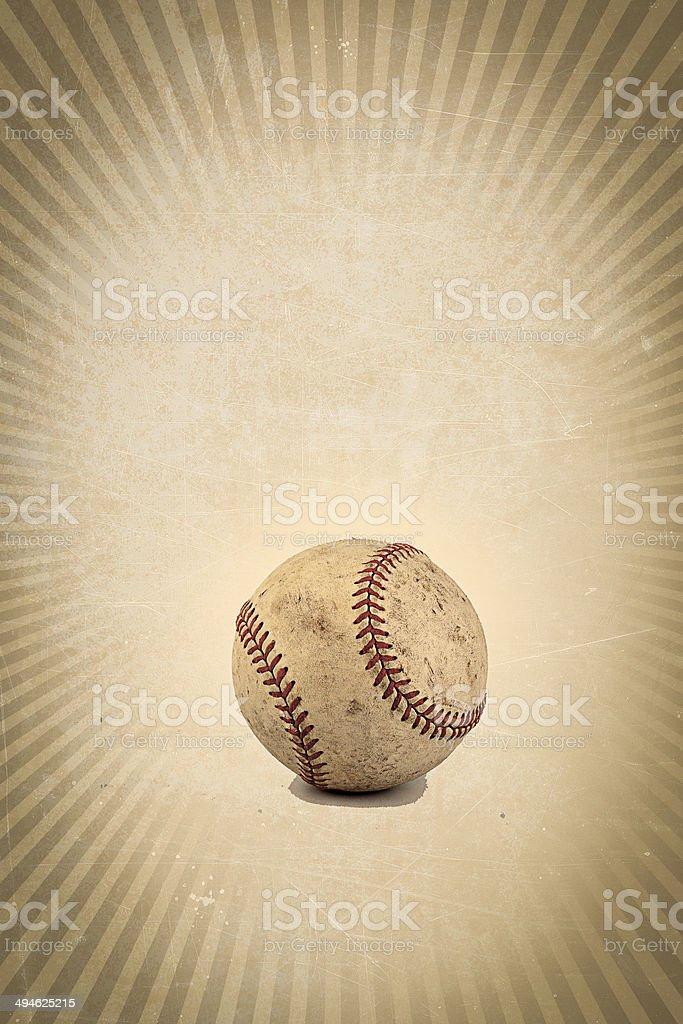 Vintage baseball background stock photo
