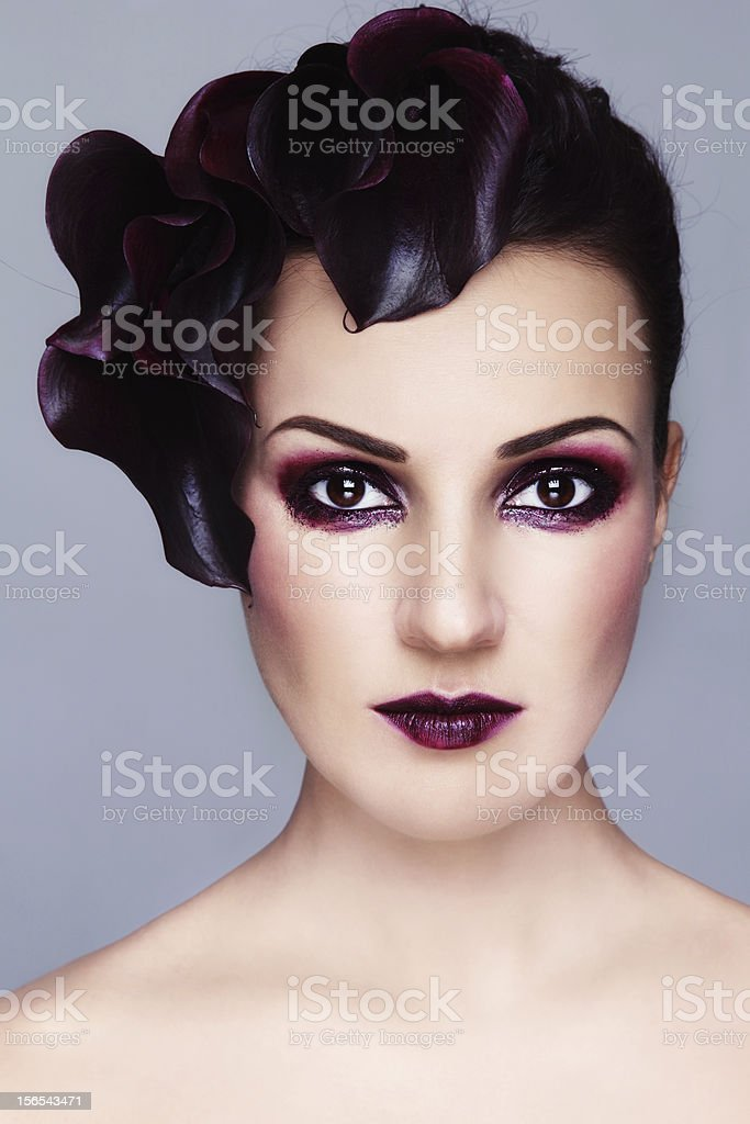 Vintage beauty royalty-free stock photo