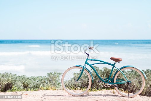Tulum Mexico, caribbean sea, bicycle, travel destinations