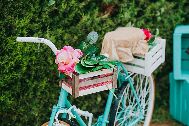 Vélo Vintage.   - Photo