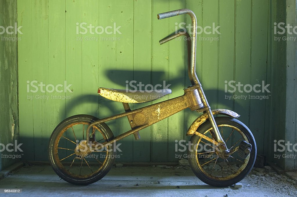 Vintage Bicycle royalty-free stock photo