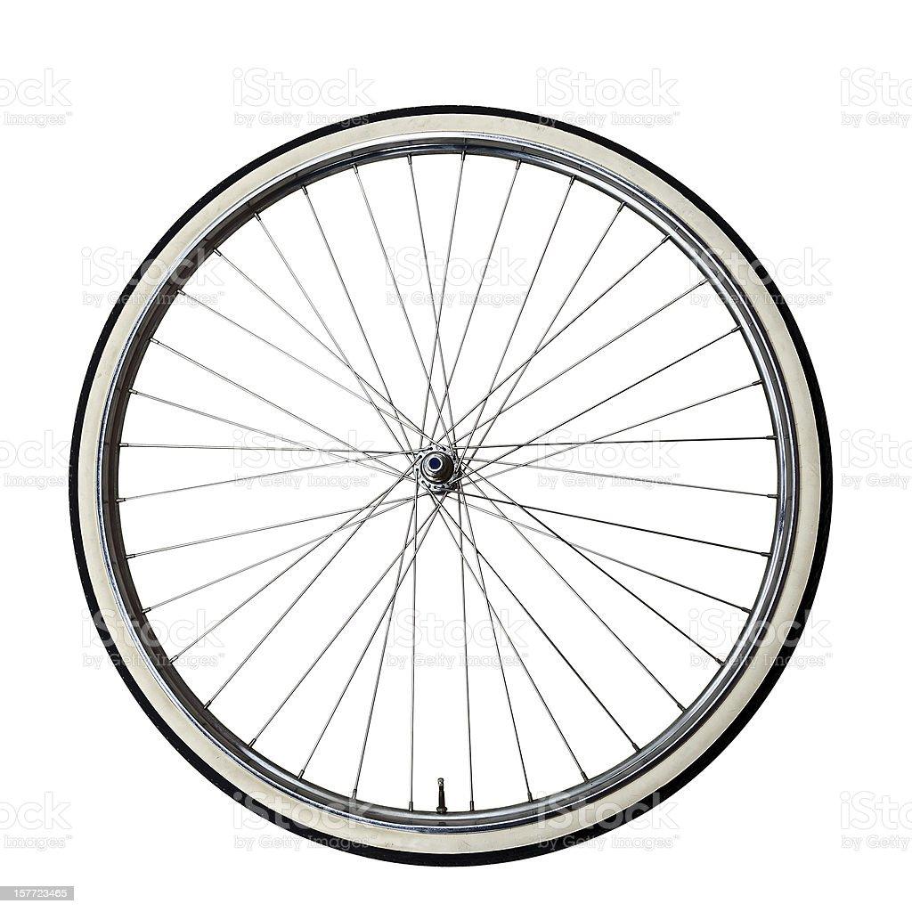 Vintage bicycle Wheel royalty-free stock photo