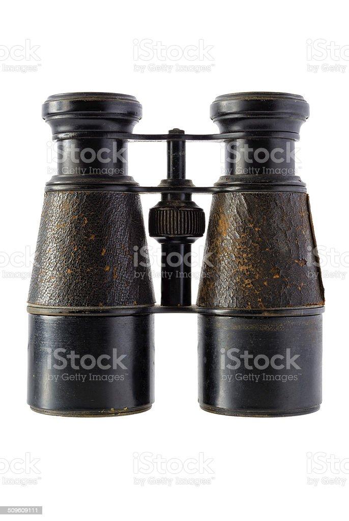 Vintage binoculars royalty-free stock photo