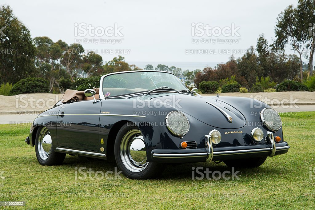 Vintage Black Porsche 356b Convertible D Roadster Stock Photo Download Image Now Istock