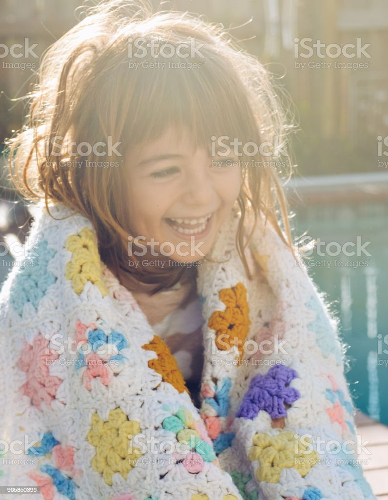 Vintage Blanket - Royalty-free 4-5 Years Stock Photo