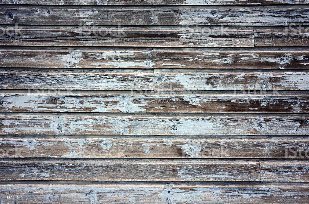 blue barn wood. Vintage: Blue Barn Wood Stock Photo