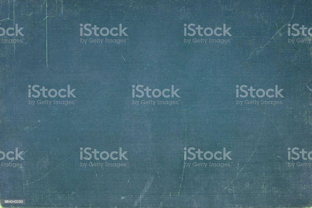ビンテージ ブルー ブック カバー - しみのロイヤリティフリーストックフォト
