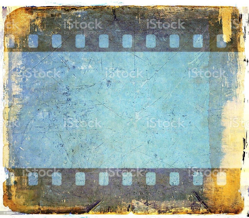 Retro Bluefilmstreifen Rahmen Hintergrund Stock-Fotografie und mehr ...