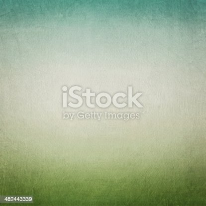 istock Vintage blue green paper background 482443339