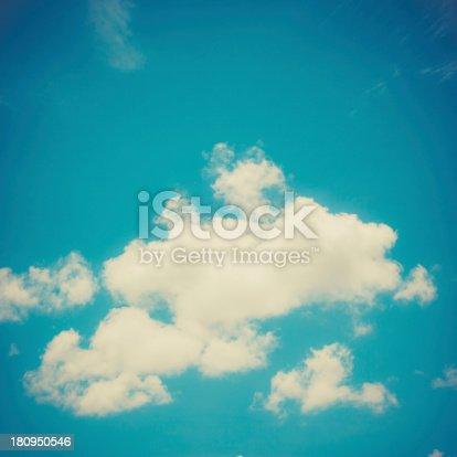 istock Vintage Blue Sky 180950546