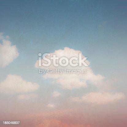 istock Vintage Blue Sky 185046837