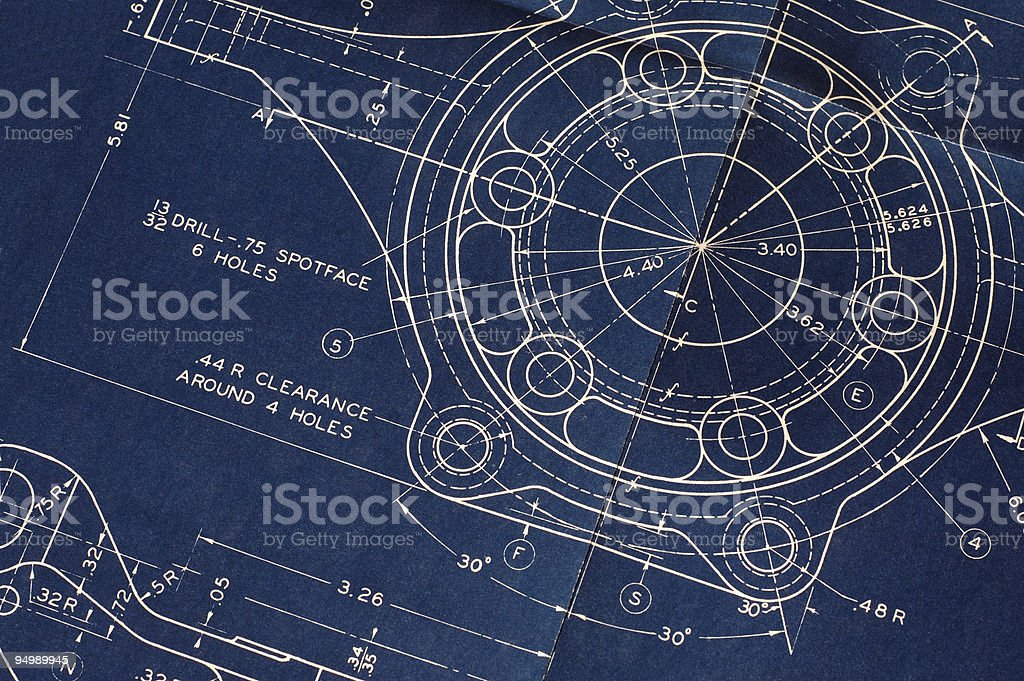 Vintage blueprint stock photo more pictures of backgrounds istock vintage blueprint royalty free stock photo malvernweather Image collections