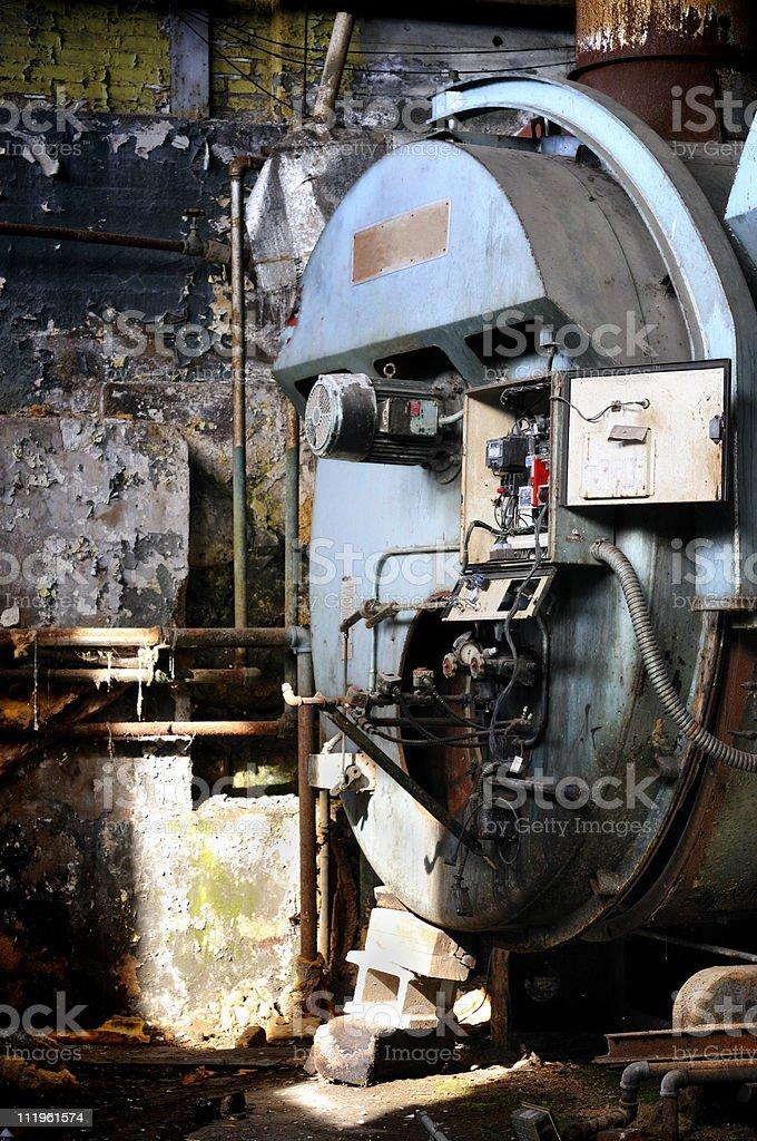 Vintage Boiler stock photo