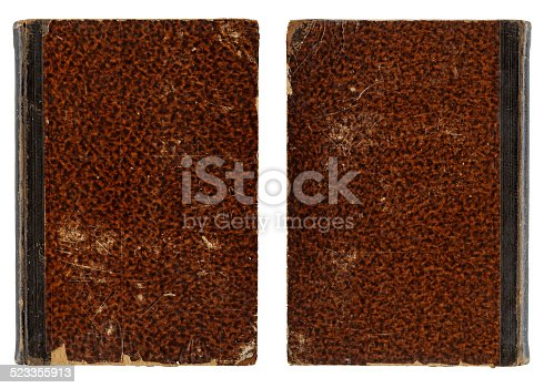 istock Vintage Book Cover - Front and Back Side 523355913