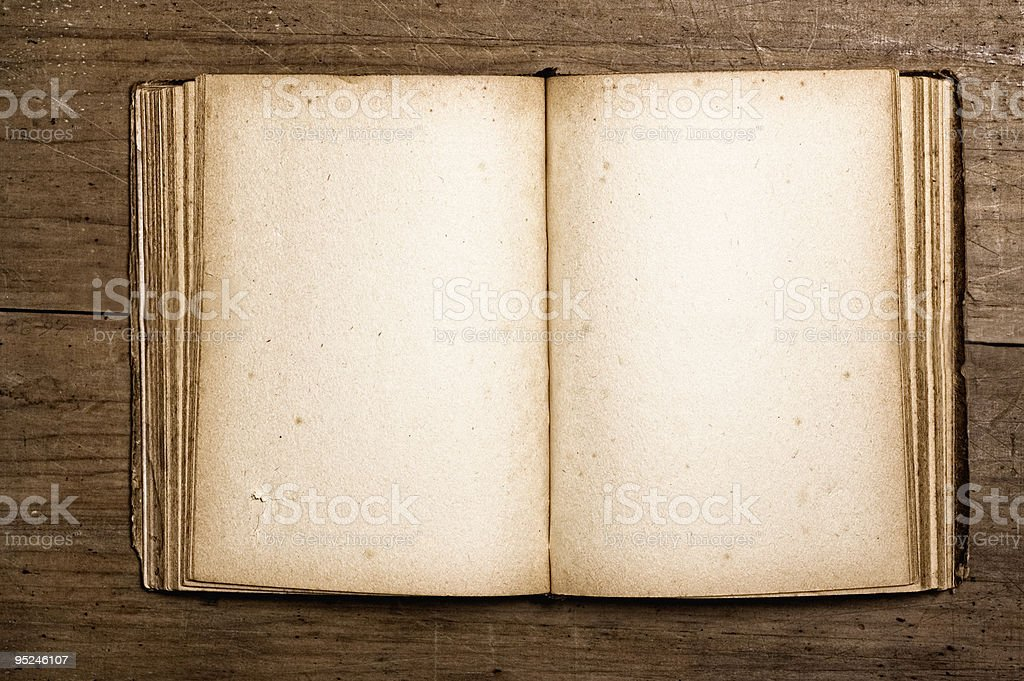 Vintage book. royalty-free stock photo