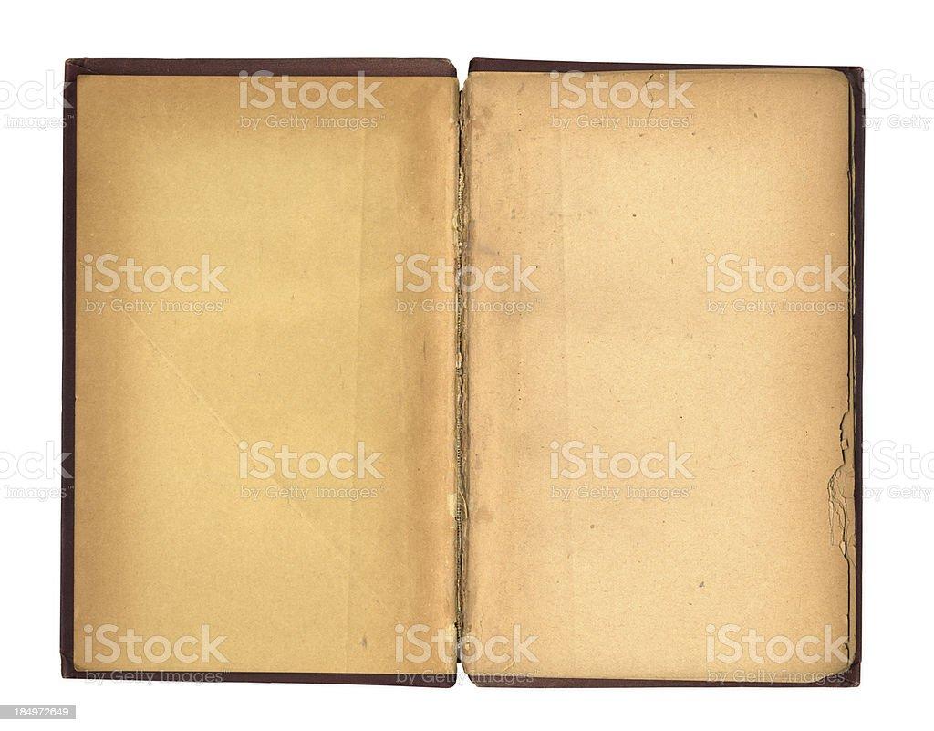 Vintage Book Spread XXXL stock photo