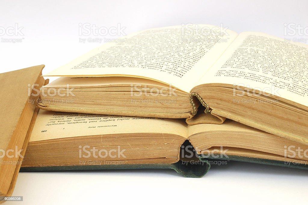 vintage books #5 stock photo