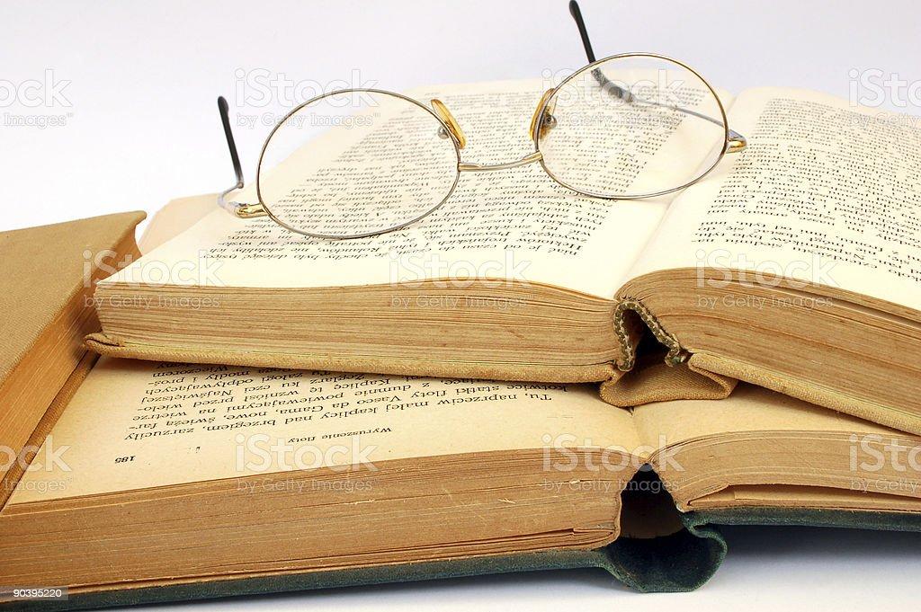 vintage books #8 stock photo