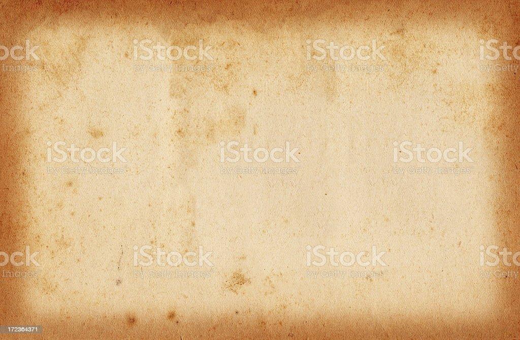 Vintage Bordered Paper XXL stock photo