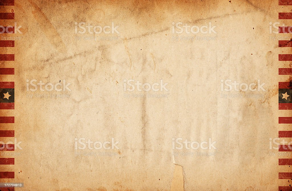 Vintage Bordered Paper XXXL royalty-free stock photo
