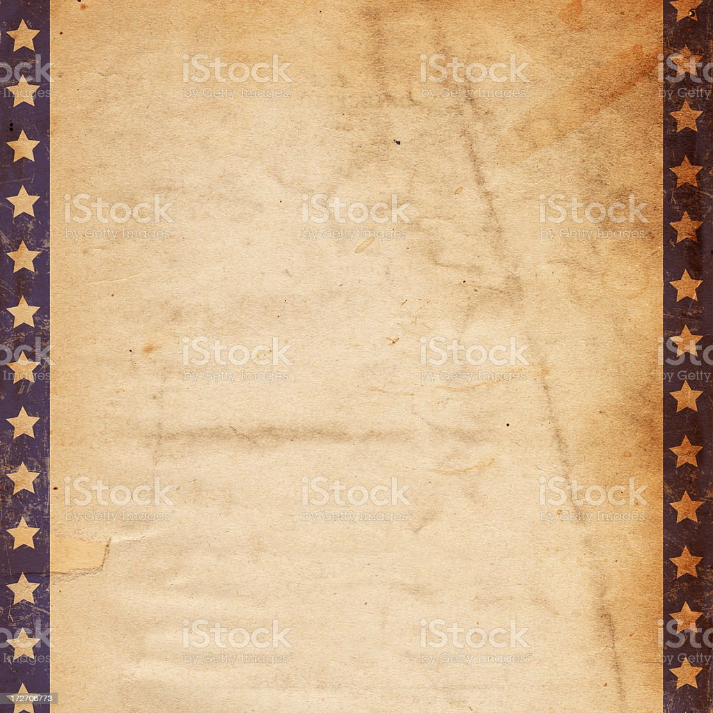 Vintage Bordered Paper XXXL stock photo