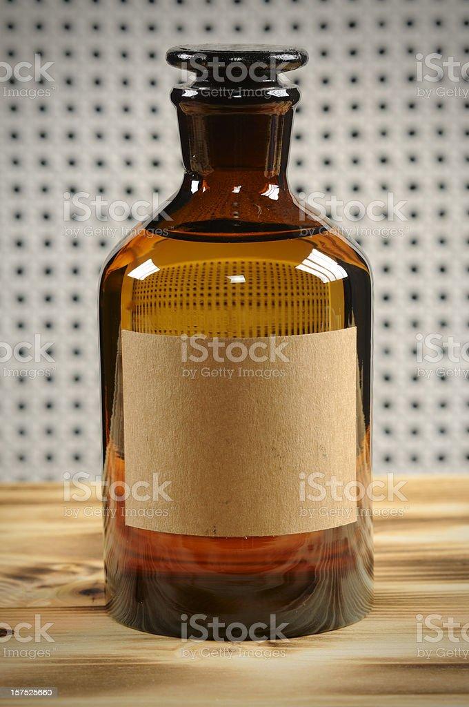 Vintage Bottle stock photo