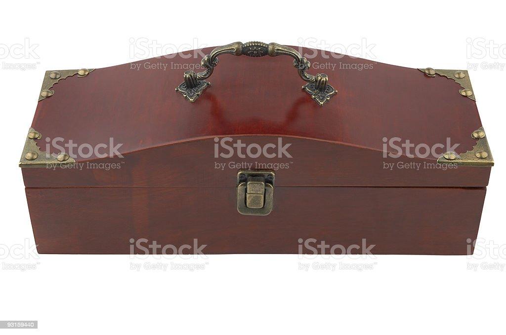 vintage box royalty-free stock photo