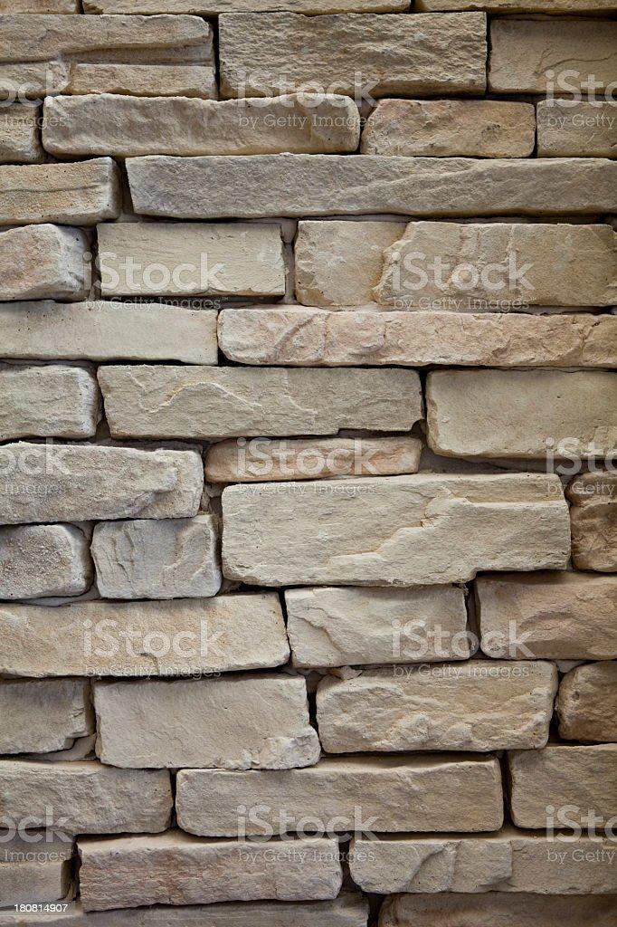 Vintage Brick Wall royalty-free stock photo