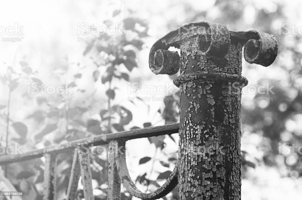Vintage bridge element object background royalty-free stock photo