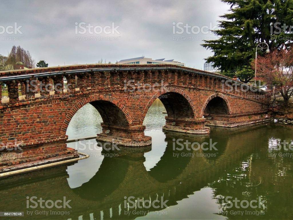 Vintage bridge royalty-free stock photo