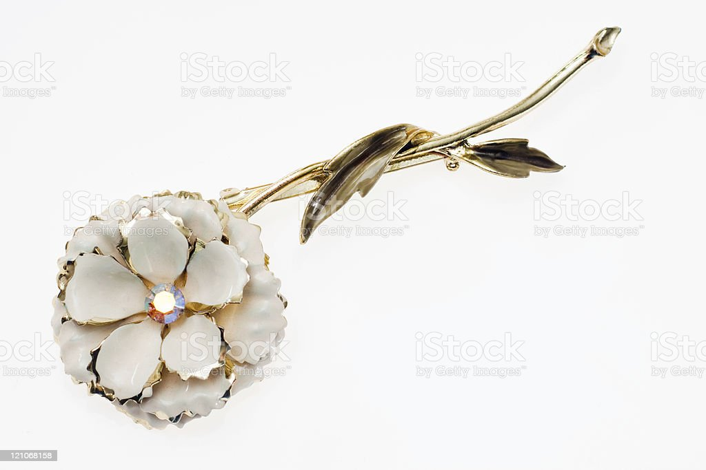 Vintage Brooch royalty-free stock photo