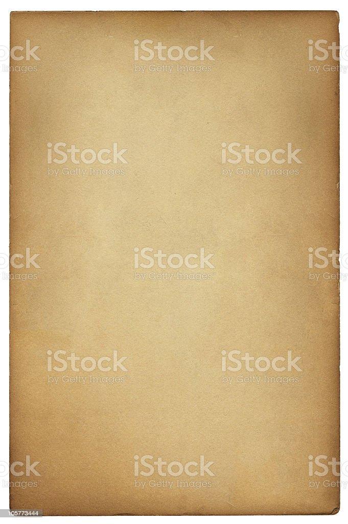 Vintage Brown Card stock photo