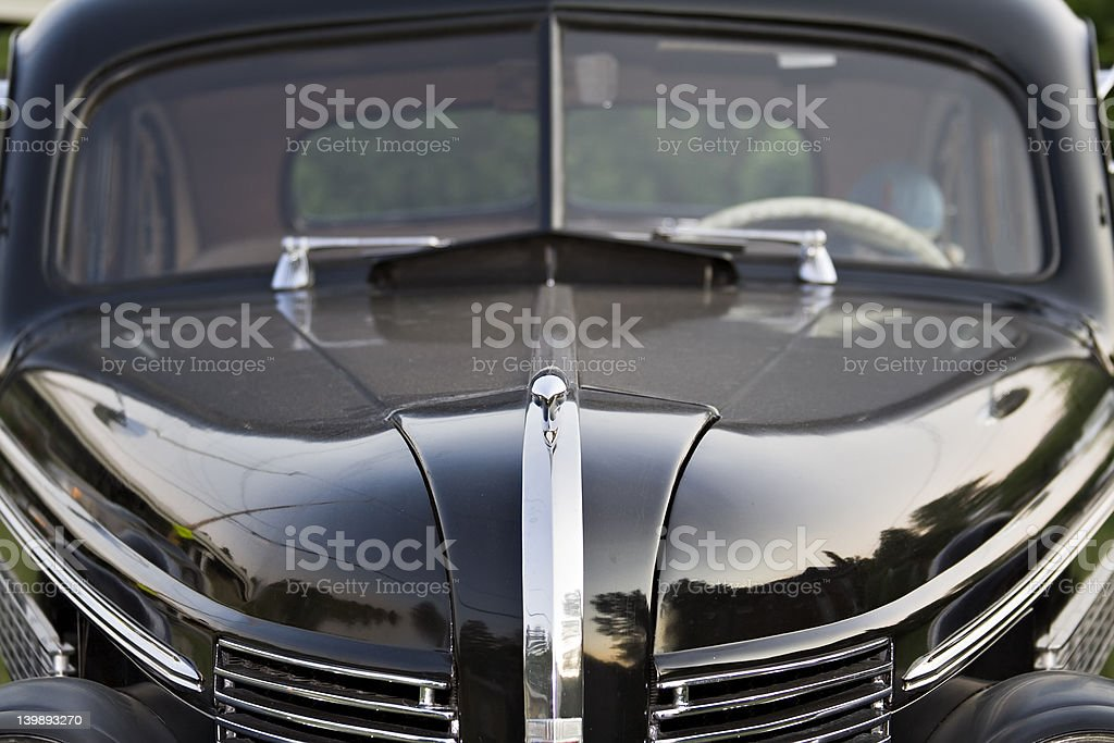 Vintage Buick Hood royalty-free stock photo
