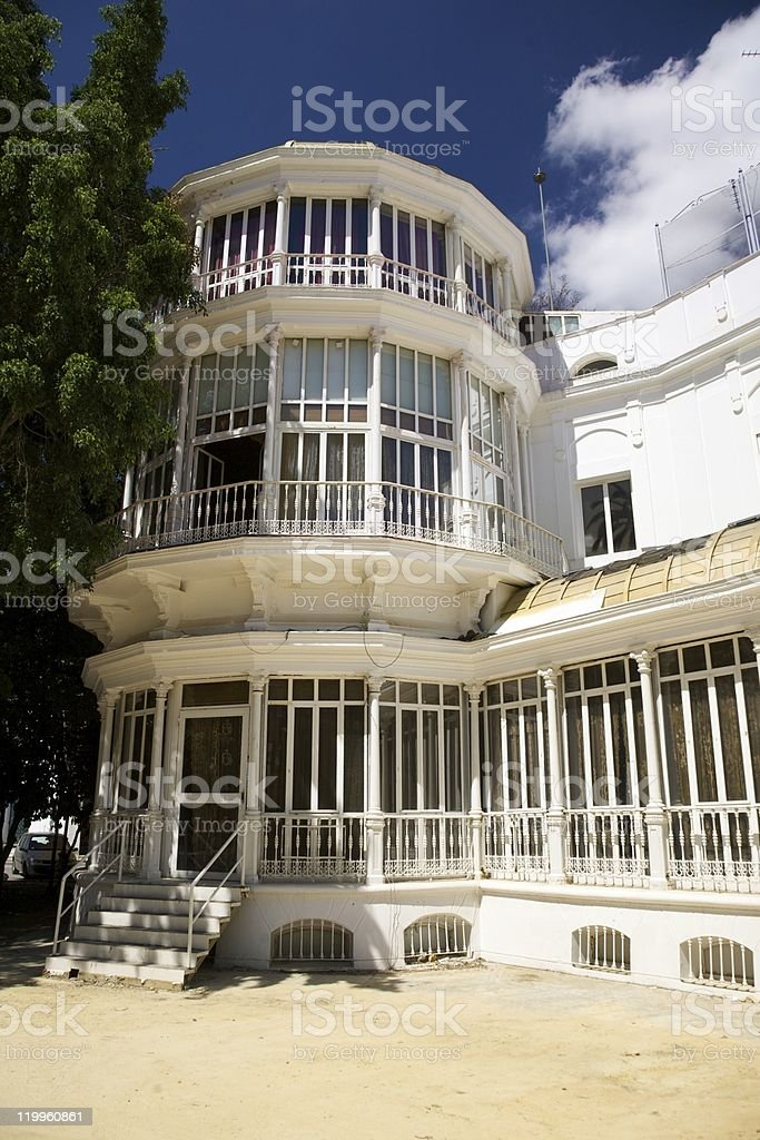 vintage building at Seville royalty-free stock photo