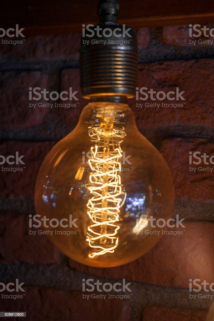 Vintage bulbs stock photo