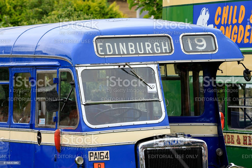 Vintage Bus stock photo