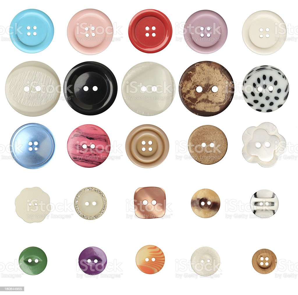 Vintage buttons royalty-free stock photo