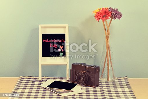 609706398 istock photo vintage camera and album with old photos 470340408