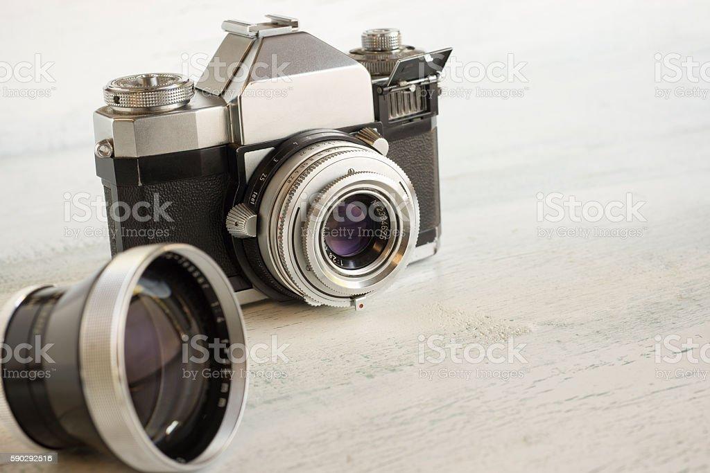 Vintage camera gear Стоковые фото Стоковая фотография