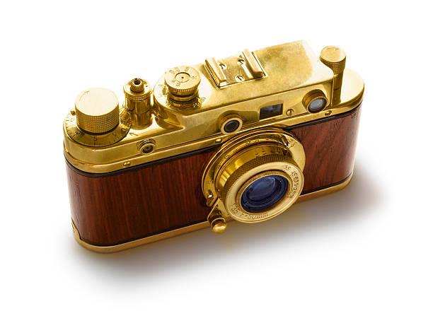 Vintage Kamera Isoliert – Foto